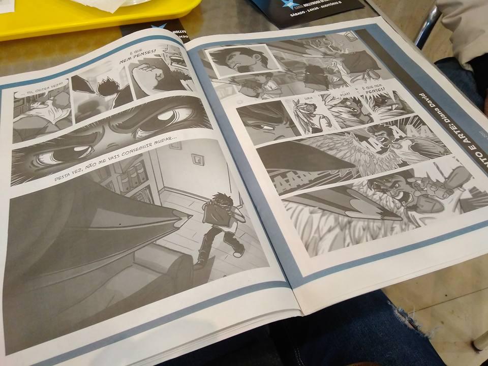 Comic Story Publish In JANKENPON